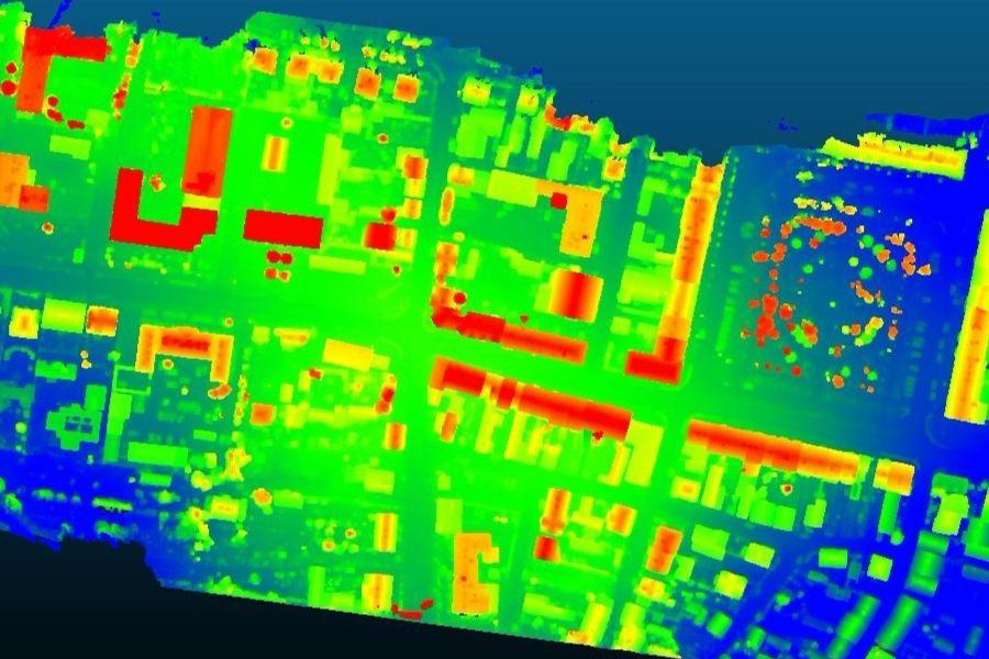 Numeryczny model pokrycia terenu